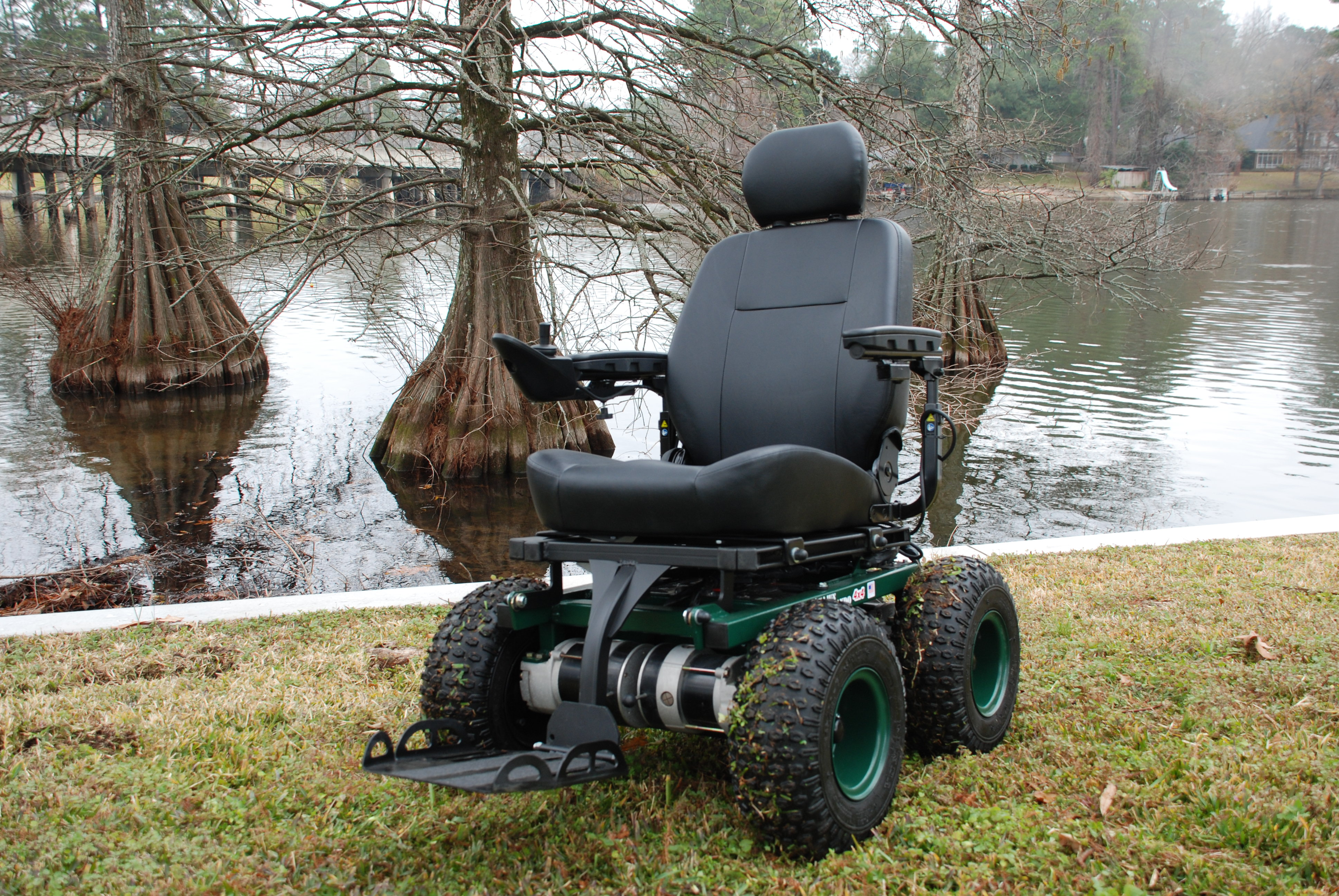 Cajun mobility personal all terrain 4x4 vehicle - Sillas ruedas electricas usadas ...