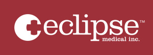 Eclipse white on red logo
