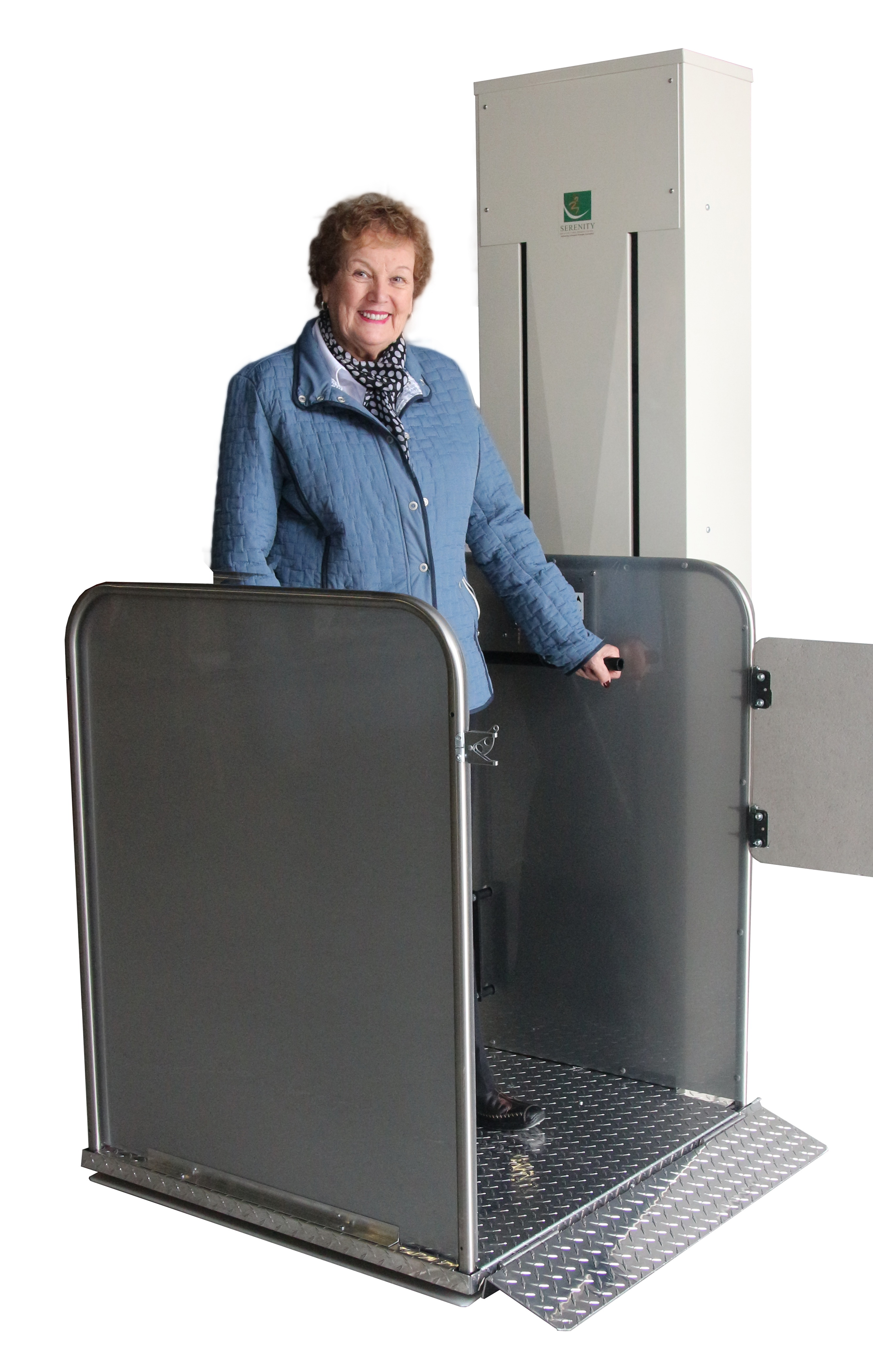 access solutions total porch lift outdoor